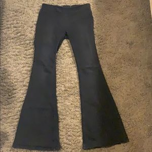 Black Free People bell bottoms